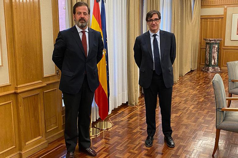 Carlos Rus y Salvador Illa