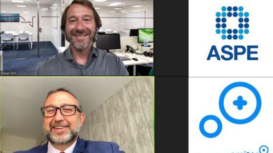 Óscar Orri y Alfonso de la Lama-Noriega