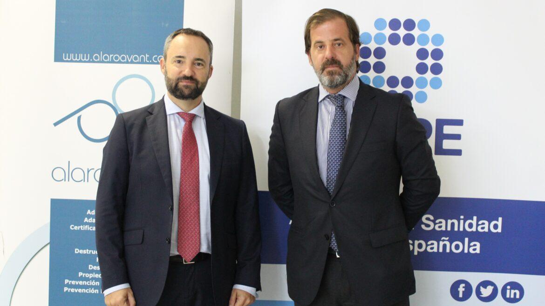 Alberto Martín y Carlos Rus