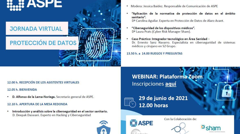 Jornada Virtual Protección de Datos en el Sector Sanitario